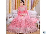Heavy Bridal New Party wear Anarkali Ethnic Gown