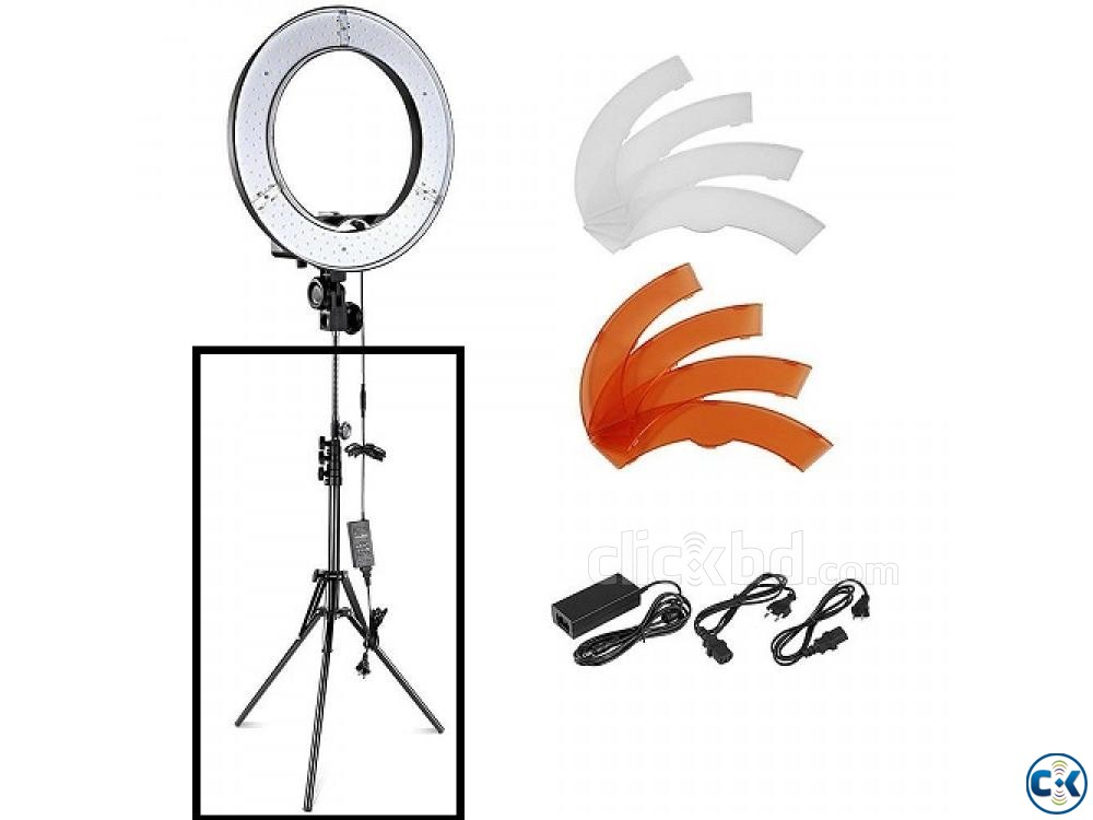 YE 18 Photo Video Selfie Makeup Professional LED Ring Light | ClickBD large image 2