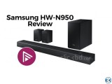 HW-N950 Samsung Harman Kardon Soundbar with Dolby Atmos