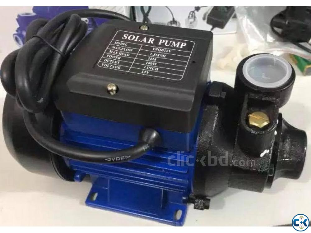 Solar power Water Pump DC 24V 280W No Controller Needed  | ClickBD large image 2
