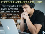 Online professional computer course