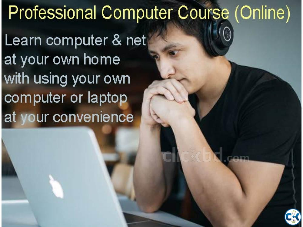 Online professional computer course | ClickBD large image 0