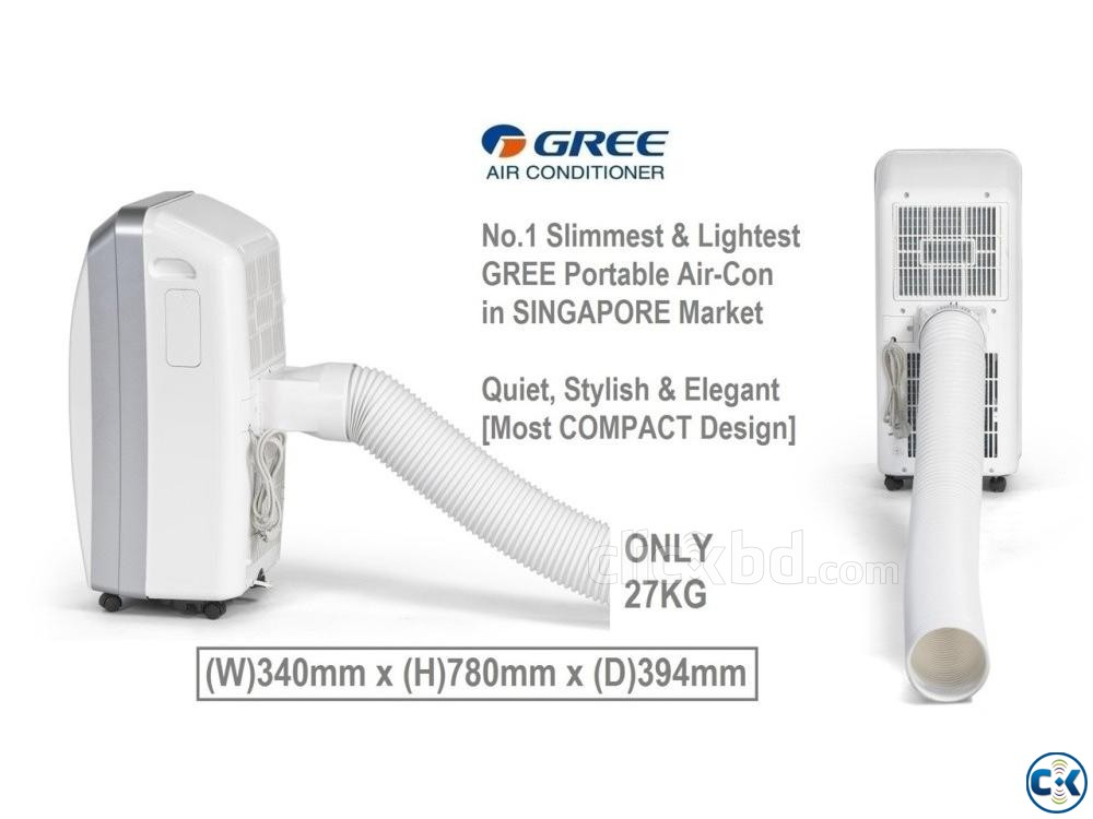 Gree Portable 1 Ton Air Conditioner GP-12LF | ClickBD large image 4