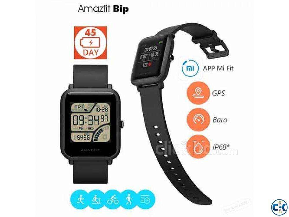 AMAZFIT Bip Lite Smart Watch Water-proof 01611288488 | ClickBD large image 3