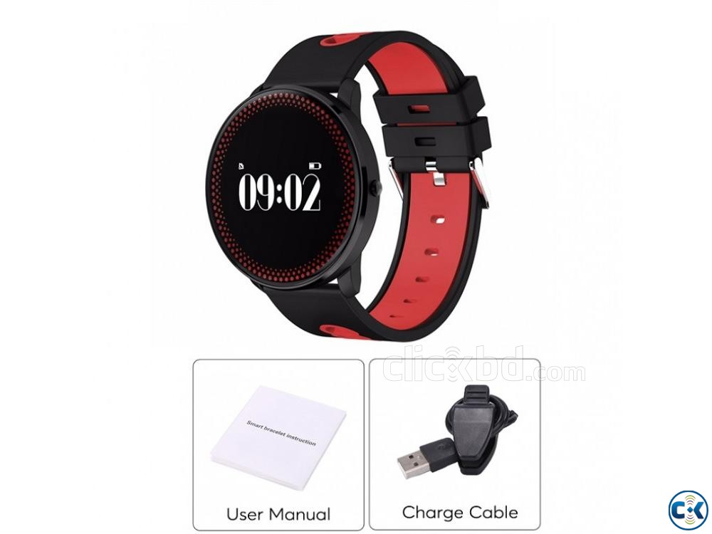 Cf007 Smart Watch Fitness Tracker Blood Pressure Heart Rate | ClickBD large image 4