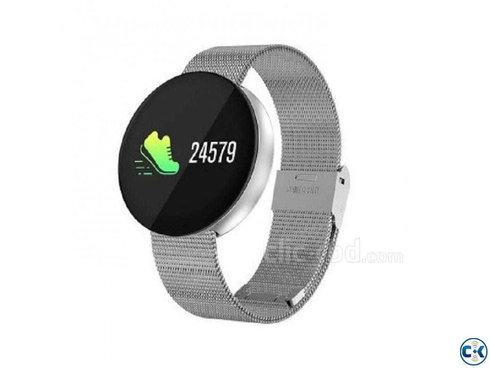 CF008 Smartwatch fitness tracker Heart Rate Blood Pressure | ClickBD large image 4