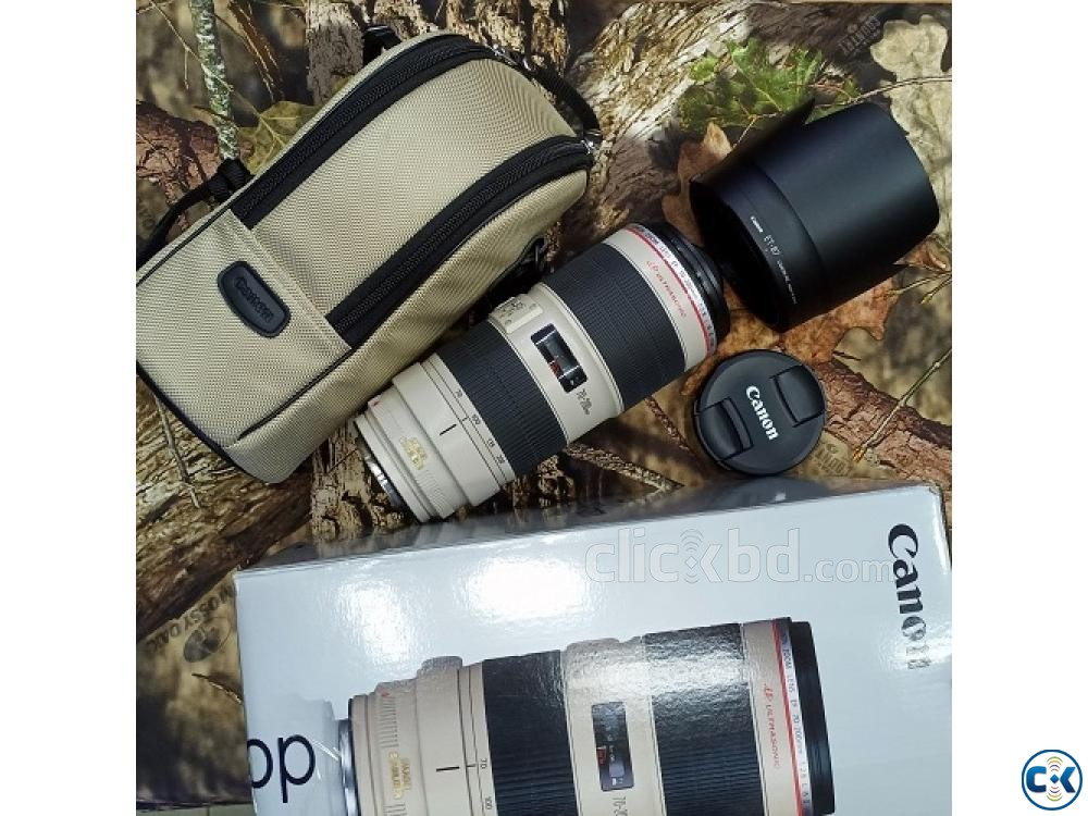 Canon EF 70-200mm f 2.8L IS II USM TelePhoto Zoom Lens | ClickBD large image 0