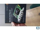 Blackmagic deck link duo 2 capture card