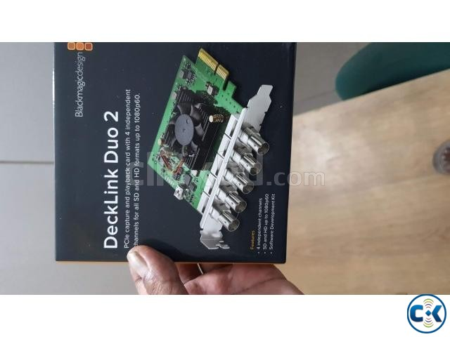Blackmagic deck link duo 2 capture card | ClickBD large image 0