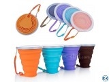 Silicone Folding Cup Portable Folding Cup for Travel 270m