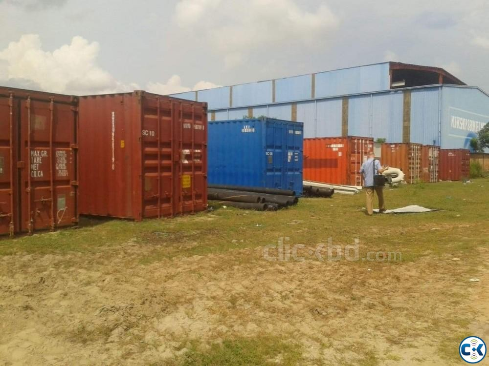 20 Feet and 40 Container Sell | ClickBD large image 1