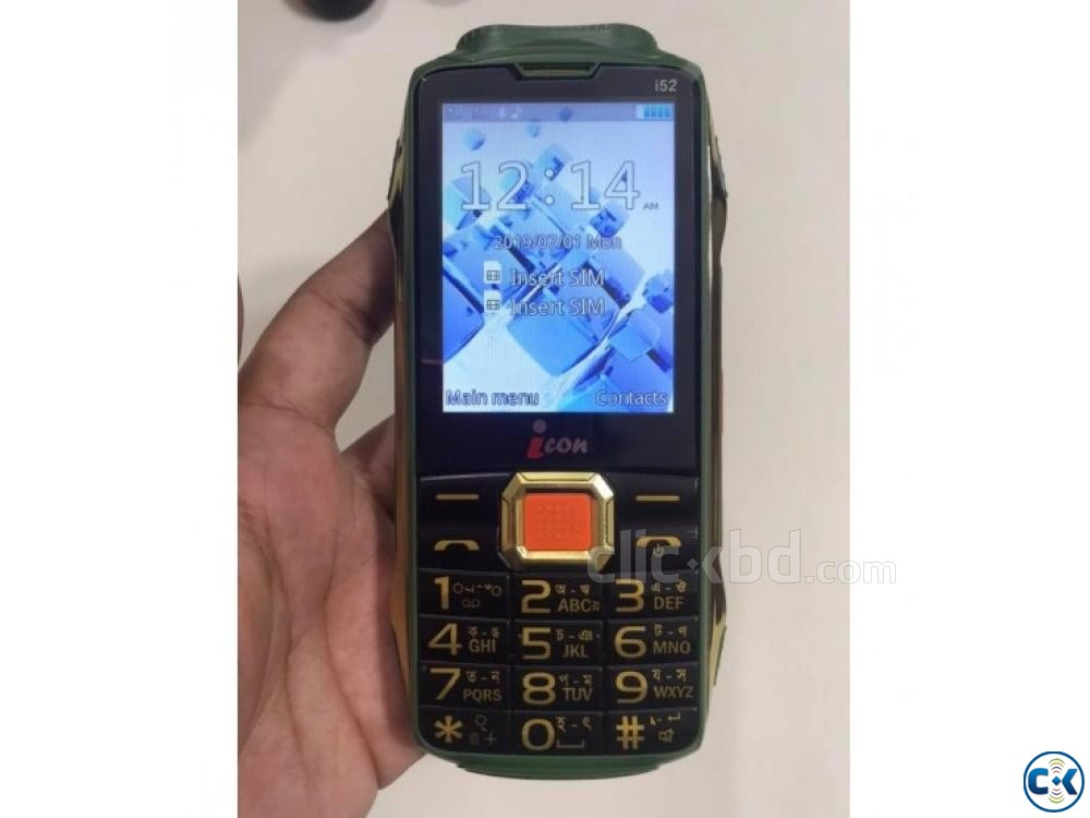 icon i52 Power Band Phone 8500mAh Big Battery 01611288488 | ClickBD large image 0
