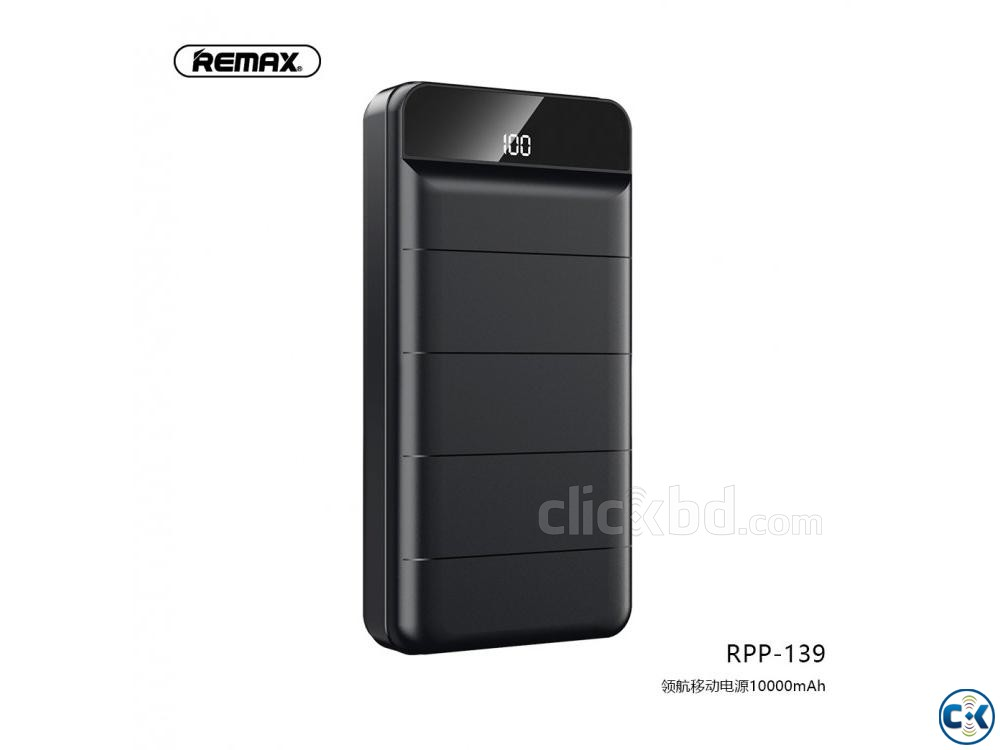 Original Remax 10000mAh Powerbank RPP-139 | ClickBD large image 0