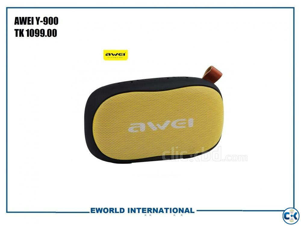 Original Awei Y900 Wireless Bluetooth Speaker | ClickBD large image 1