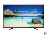 SONY BRAVIA 55X8000G TV 4K HDR Android with Voice Search Bra