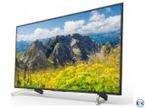 X7500F Sony Bravia 4K 55 Inch Android TV With Warranty 5 yea