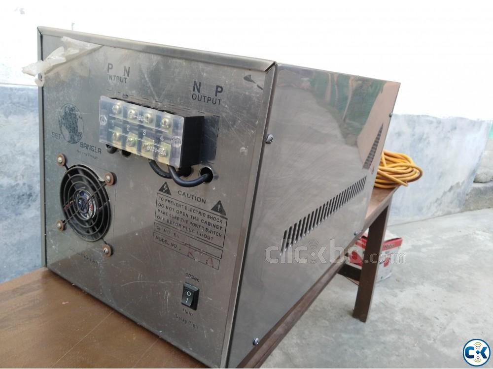 Digital Short Circuit Protection 5KVA Voltage Stabilizer | ClickBD large image 1