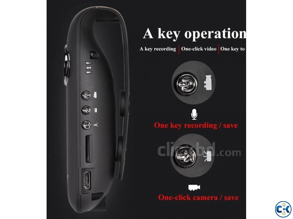 Spy Camera HD 1080P Mini Cam 01643 26 03 20 | ClickBD large image 2