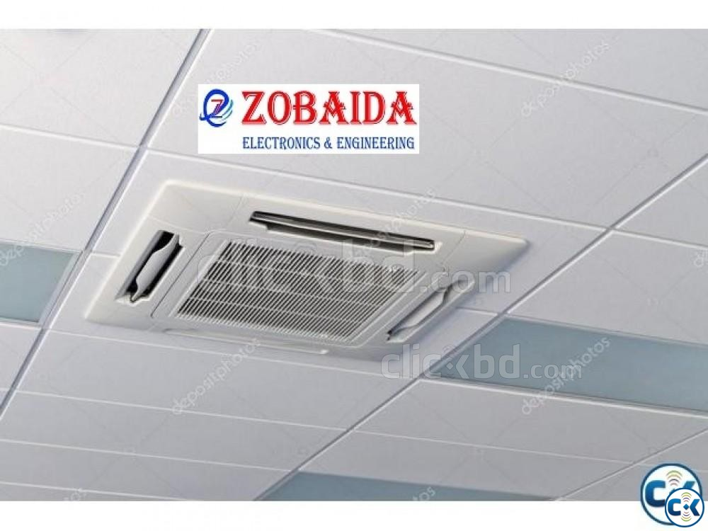 5.0TON O General Ceiling Cassette AC Winter Lowest Price  | ClickBD large image 1