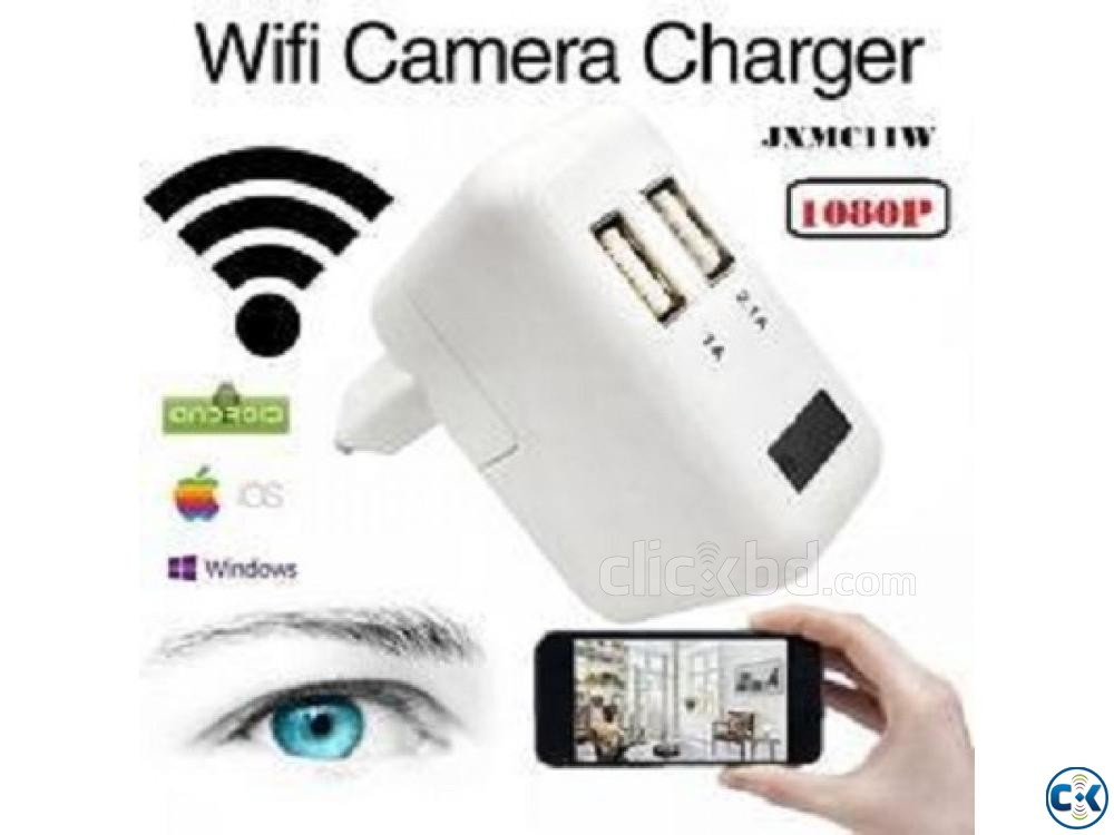 Spy Camera Wifi Charger 01729 33 39 43 | ClickBD large image 2