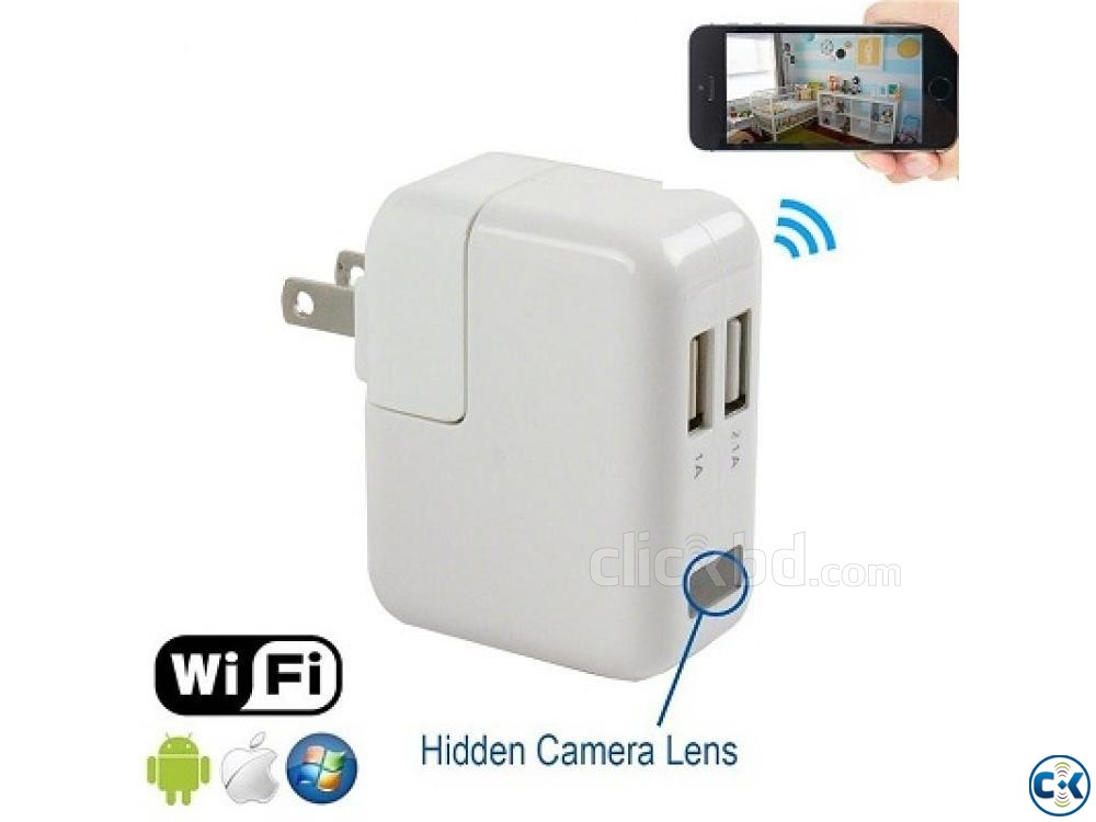 Spy Camera Wifi Charger 01729 33 39 43 | ClickBD large image 3