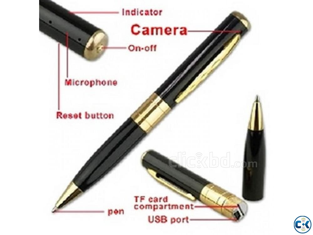 SPY CAMERA PEN TF 01729 33 39 43 | ClickBD large image 1
