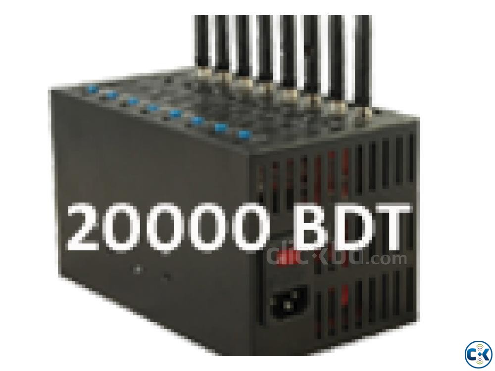 Low price 8 port modem Available in Bangladesh | ClickBD large image 1