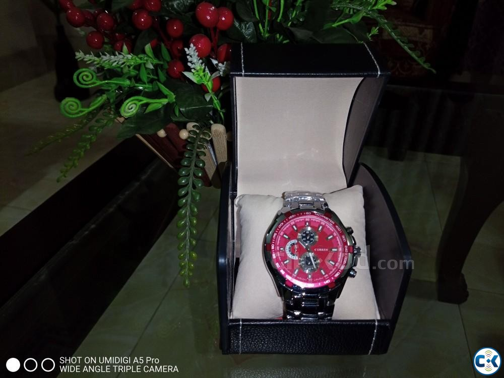 Curren watch Brand New | ClickBD large image 0