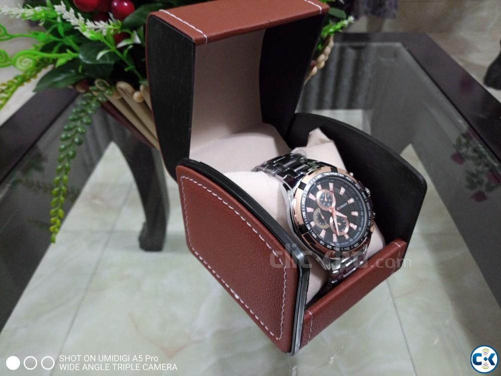 Curren watch Brand New | ClickBD large image 1