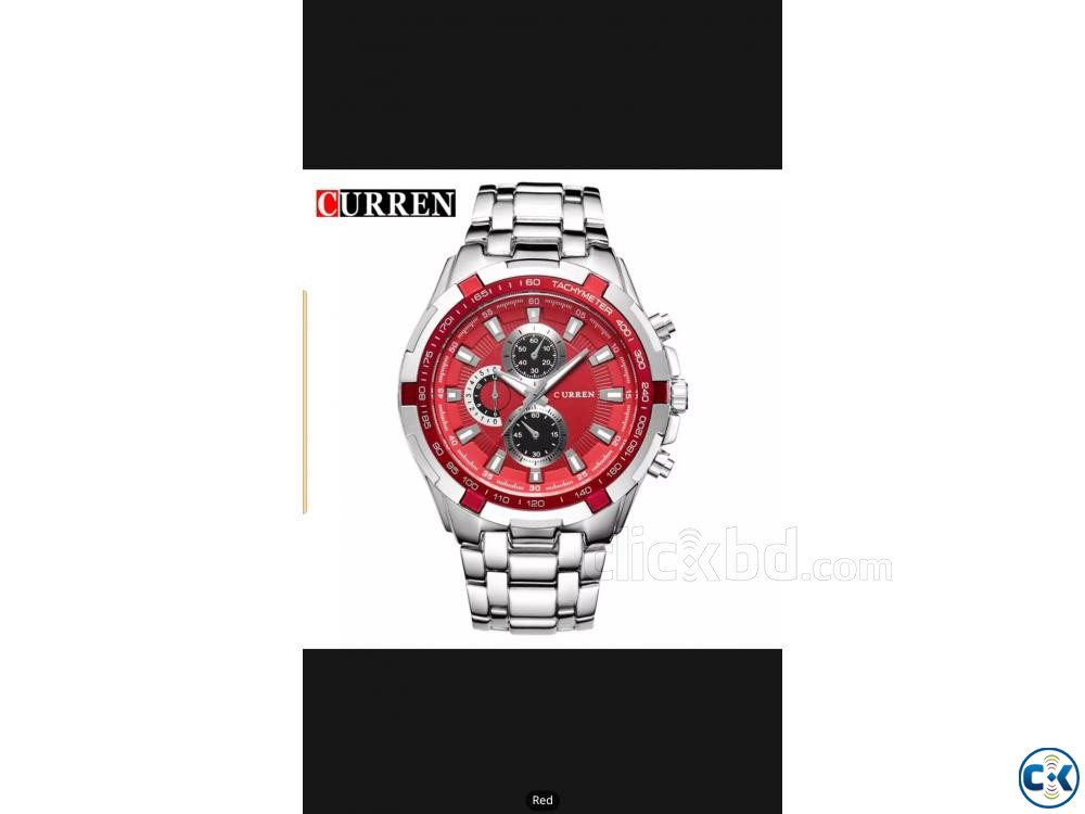 Curren watch Brand New | ClickBD large image 2