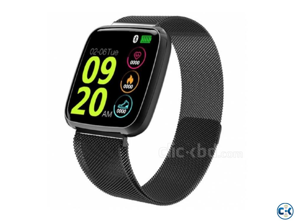 Y9 Smartwatch Water-proof Heart Rate 01611288488 | ClickBD large image 1