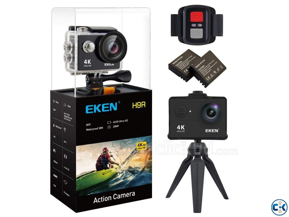 EKEN H9R Latest Version 7.0 Action Camera Remote All A | ClickBD large image 0