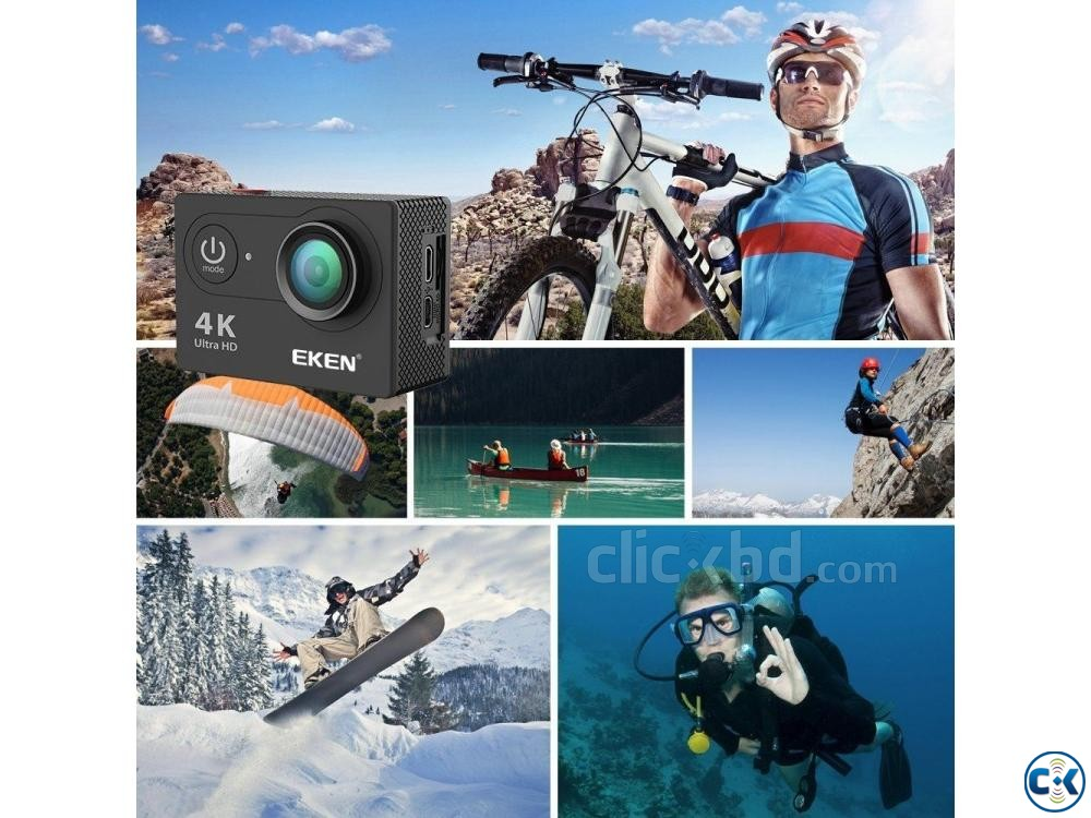 EKEN H9R Latest Version 7.0 Action Camera Remote All A | ClickBD large image 3