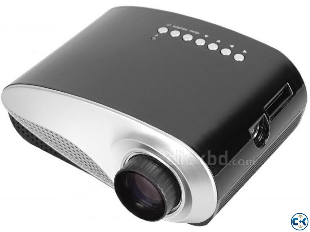 Mini LED Projector with TV Card RD802 60 Lumens | ClickBD large image 1