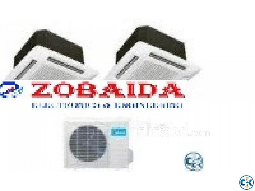 Midea 3.0 Ton Special Winter Offer 36000 Cassette Type | ClickBD large image 1