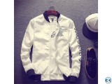 Name Off White Stylish Winter Jacket for Men - WE-10 - UNQ