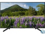 Sony Bravia 55 X7500F 4K Android HDR