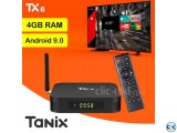 4GB RAM Android Smart TV Box Tanix TX6 Android TV Box