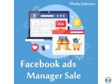 Facebook ads Manager account for Sale