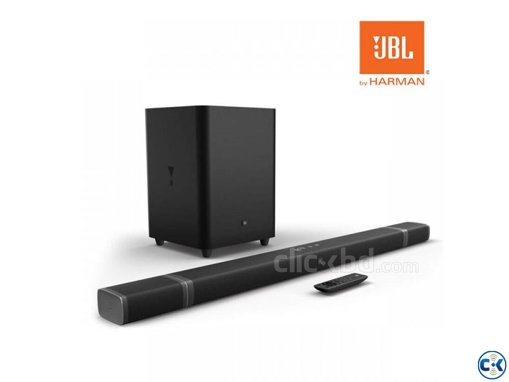 JBL Bar 5.1-Channel 4K Ultra HD Sound bar with True Wireless | ClickBD large image 1