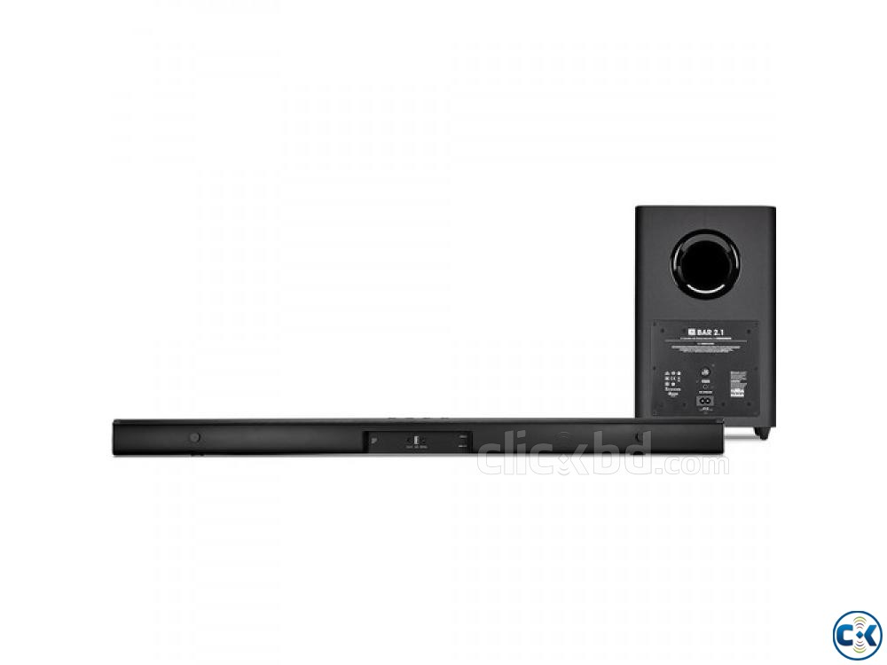 JBL Bar 2.1-Channel Soundbar with Wireless Subwoofer KEY FEA | ClickBD large image 1