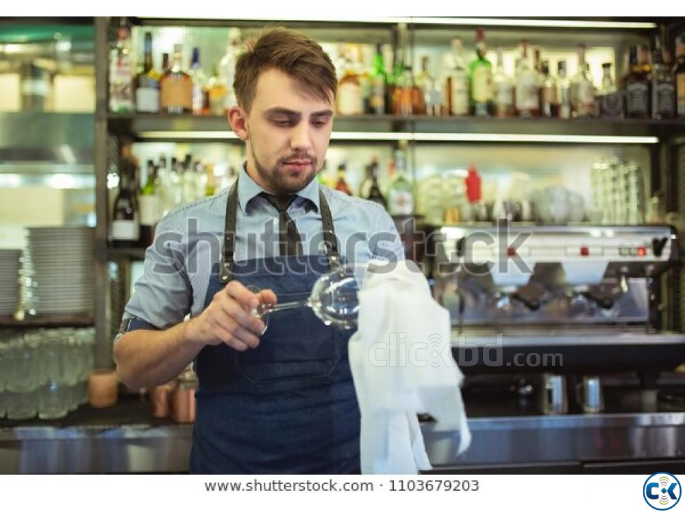 Coffee shop cleaner job in Saudi Arabia | ClickBD large image 0