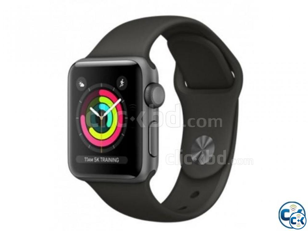 Apple Watch Series 3 42MM Space Gray | ClickBD large image 0