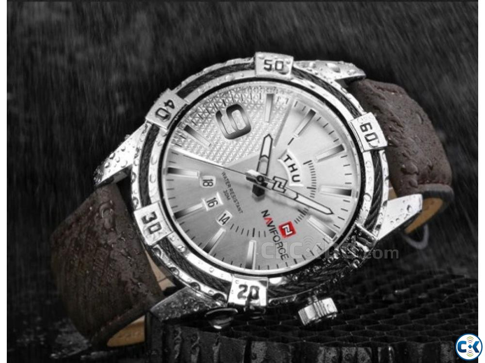 NAVIFORCE Military Waterproof Sports Men Watches | ClickBD large image 2
