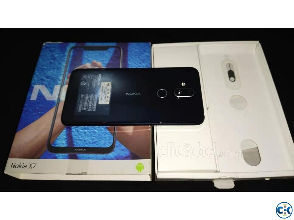 Nokia X7 2019 4 64 With Full Box | ClickBD large image 3