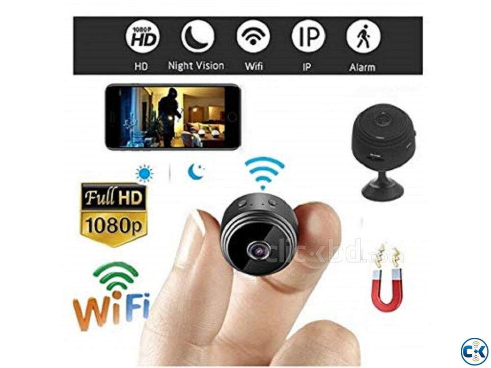 Spy camera A9 Full HD 1080P 01908 12 48 08 | ClickBD large image 2
