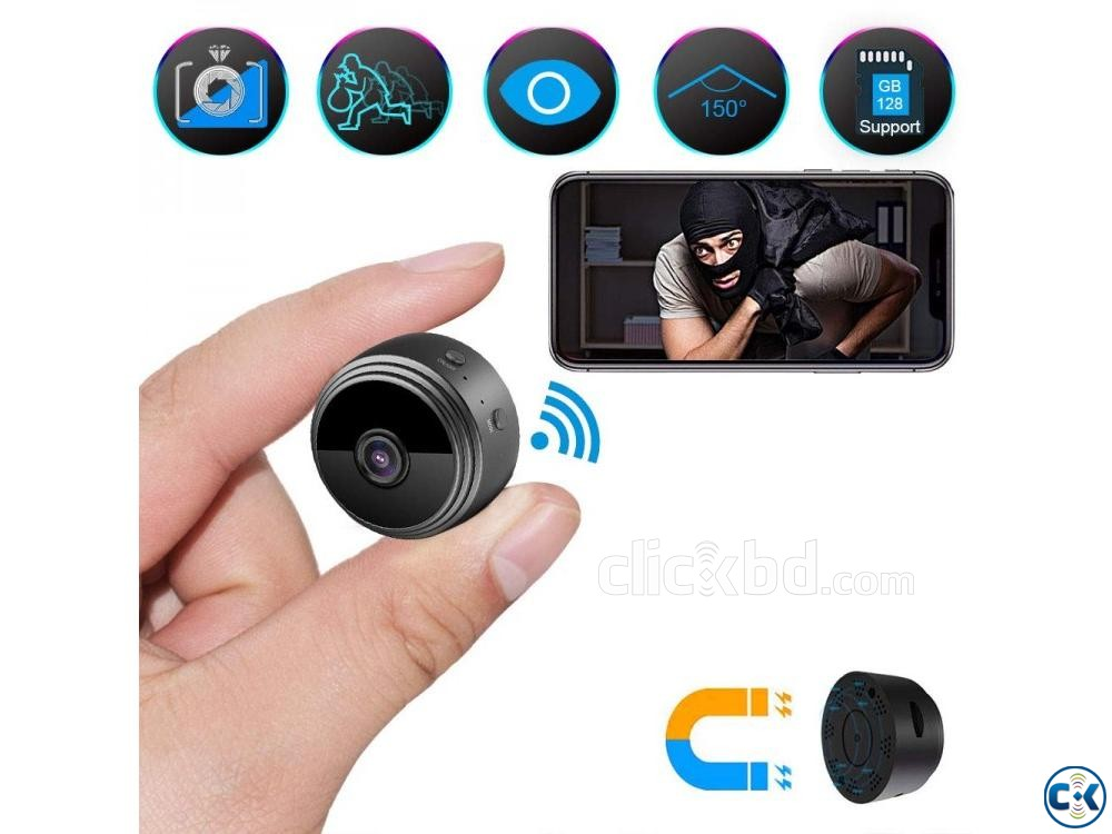 Spy camera A9 Full HD 1080P 01908 12 48 08 | ClickBD large image 3