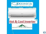 2.0 Ton Midea Inverter (hot / cool) R22 gas eco friendly Ac