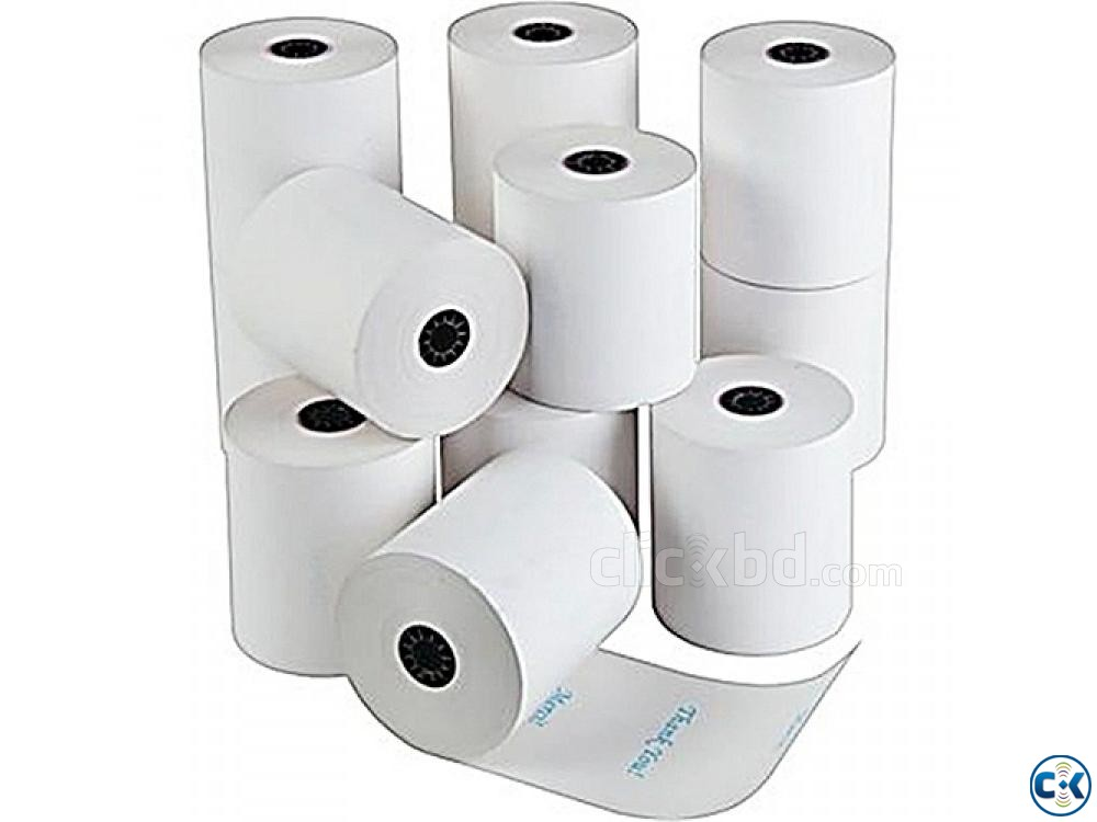 Thermal Paper Roll Per pcs 48 taka | ClickBD large image 0
