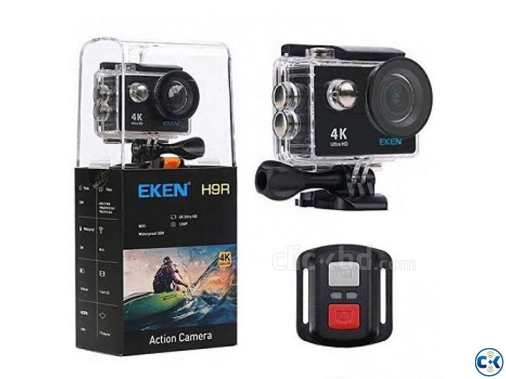 Spy camera EKEN H9R action camera 01908 12 48 08 | ClickBD large image 0